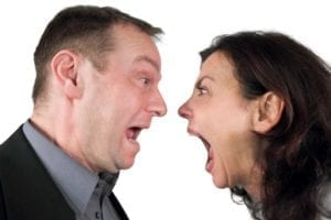 Screaming couple - managing expectations!