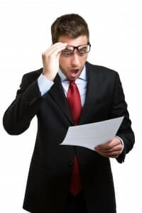 How to Tell Your Spouse You Want a Divorce - Surprised Man served with Summons