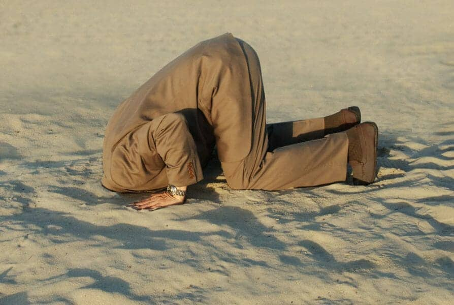 Why Burying Your Head in the Sand is NOT a Good Divorce Strategy