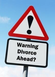 Warning sign: Divorce Ahead?