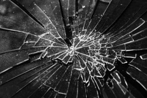 Shattered pane of glass - dealing with infidelity that shattered you