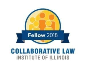 Membership seal for the Collaborative Law Institute of Illinois 2018