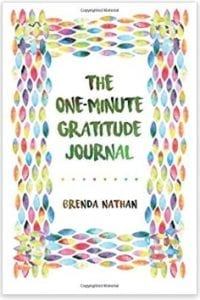 Cover of the One Minute Gratitude Journal