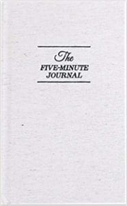 Cover of the Five Minute Journal