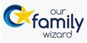 Logo for Our Family Wizard Co Parenting App