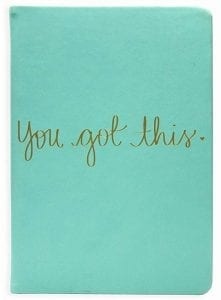 "Cover of the ""You Got This"" journal"